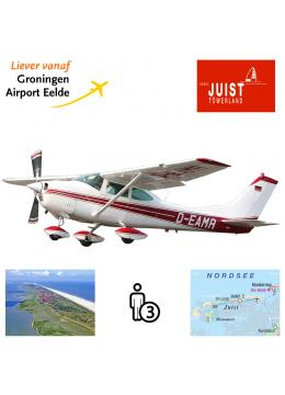 Proefles | Vliegles Cessna 182 Eelde - Juist - Eelde (eilandvlucht)